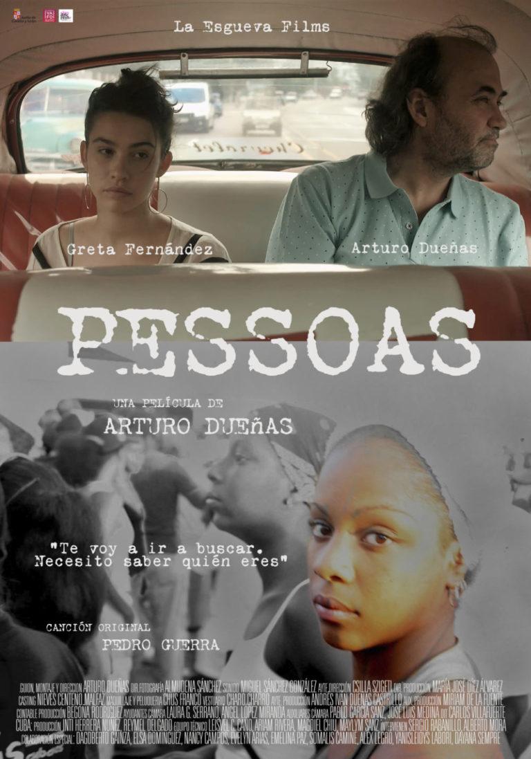 Cartel de la película PESSOAS de Arturo Dueñas